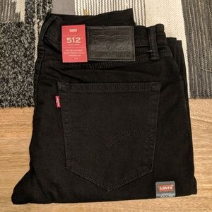 "Levi's 512 Slim Taper Stretch Jeans - 33"" x 30"""